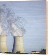 Nuclear Hdr3 Wood Print