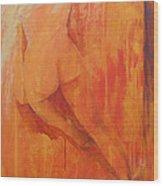 Nude # 2 Wood Print