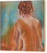 Nude 3 Wood Print