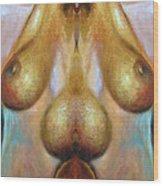 Nude Colorado Wood Print