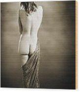 Nude Female Backside 1038.01 Wood Print