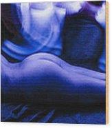 Nude Light Painting 2 Wood Print