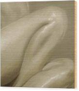 Nude Study Vi Wood Print