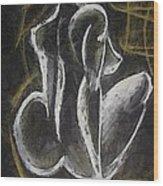 Nude  Vii Wood Print
