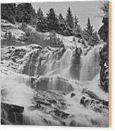 Nugget Falls Wood Print