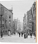 Nuremberg Street Scene 1903 Vintage Photograph Wood Print