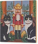 Nutcracker Sweeties Wood Print