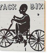 Nyack Bike Wood Print