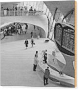 Nyc Airport, 1965 Wood Print