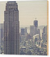 Nyc - Empire State Building Wood Print