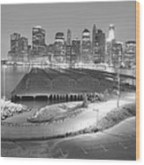 Nyc New York/ Manhatten  Wood Print