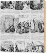 Nyc Police, 1859 Wood Print