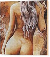 Nymph 02 Wood Print by Emerico Imre Toth