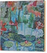 Nymph's Lily Pond- SOLD Wood Print