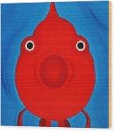 O Fish Wood Print