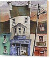 O Heagrain Pub Viewed 115737 Times Wood Print