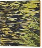 Oak And Maple Trees Reflections In Wood Print