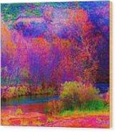 Oak Creek Acid 2 Wood Print