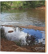 Red Rock Crossing Wood Print