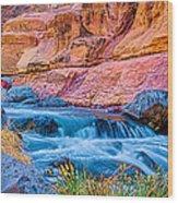Oak Creek In The Spring Wood Print