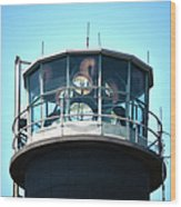 Oak Island Lighthouse Beacon Lights Wood Print