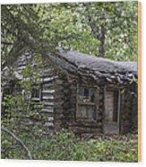 Oak Lodge Wood Print