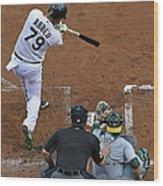 Oakland Athletics V Chicago White Sox Wood Print