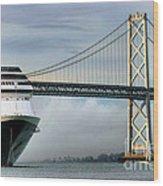 Oakland Bay Bridge  Wood Print