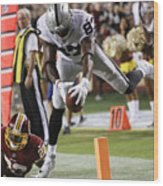 Oakland Raiders V Washington Redskins Wood Print