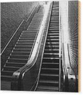 Oakland Station Wood Print