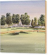 Oakmont Golf Course 14th Wood Print