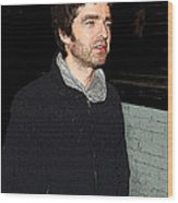 Oasis's Noel Gallagher Wood Print