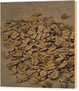 Oatmeal For Breakfast Wood Print