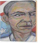Obama 2012 Wood Print