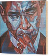 Obama 44 Wood Print