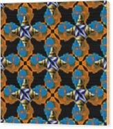 Obama Abstract 20130202p28 Wood Print