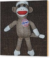 Obama Sock Monkey Wood Print