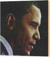 Obama1 Art Wood Print