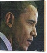 Obama1 Wood Print
