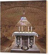 Obedience - The Church Of Saint Joseph's Carpentry Wood Print