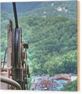 Ober Gatlinburg Lift Wood Print