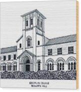 Oberlin College Wood Print by Frederic Kohli
