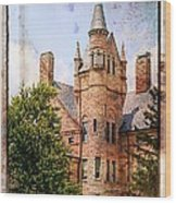Oberlin College Wood Print