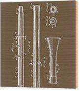 Oboe Patent 1931 Wood Print