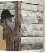 Observation Wood Print