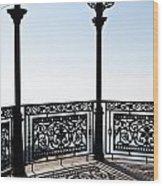 Observation Point Wood Print