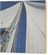 Obsession Sails 2 Wood Print