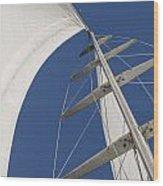 Obsession Sails 5 Wood Print