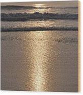 Obx Summer Sunrise Wood Print