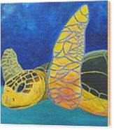 Obx Turtle Wood Print